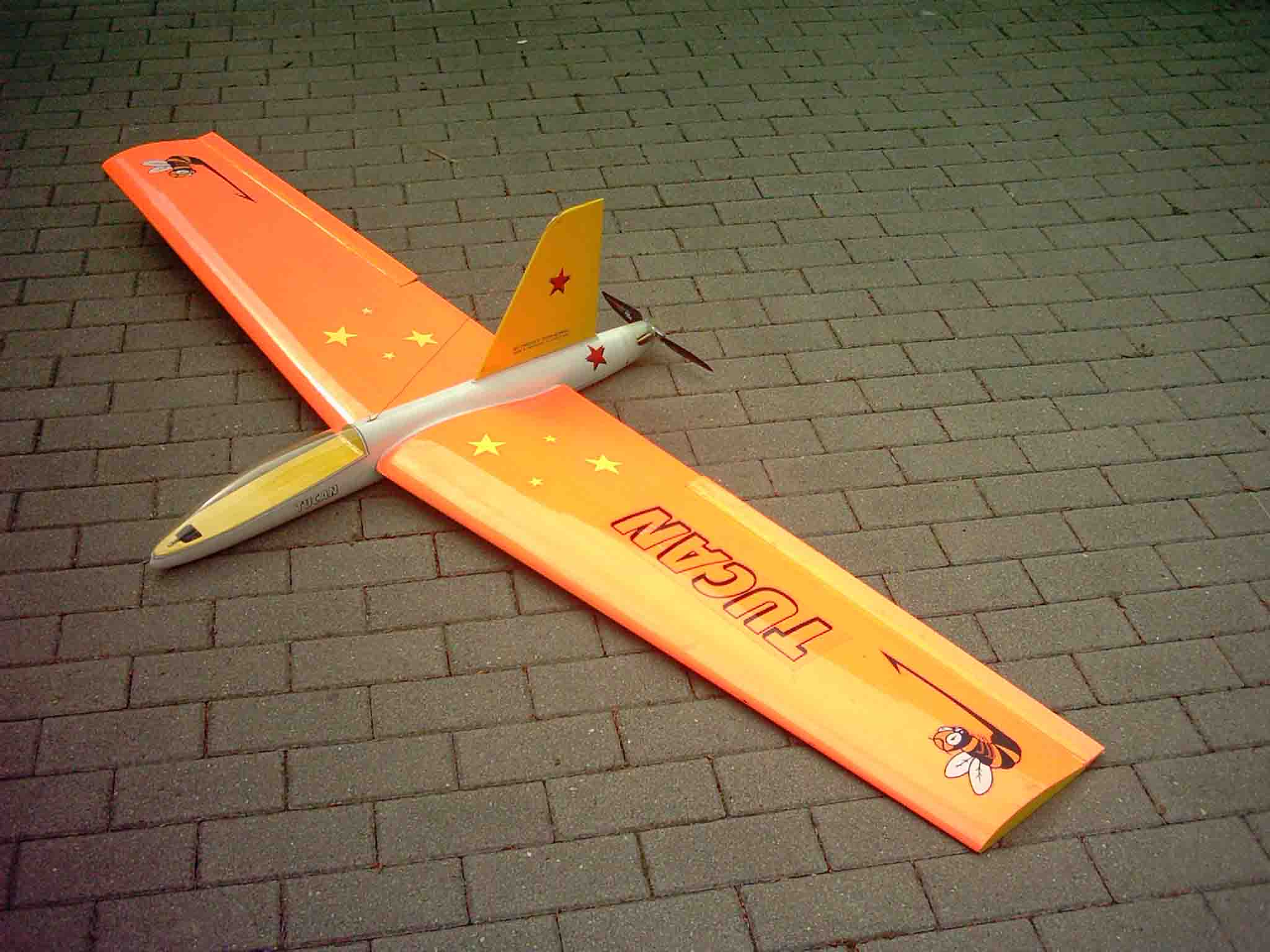 Tucan Nurflügler 208 Cm Rc Tronics Topp Rippin Ek